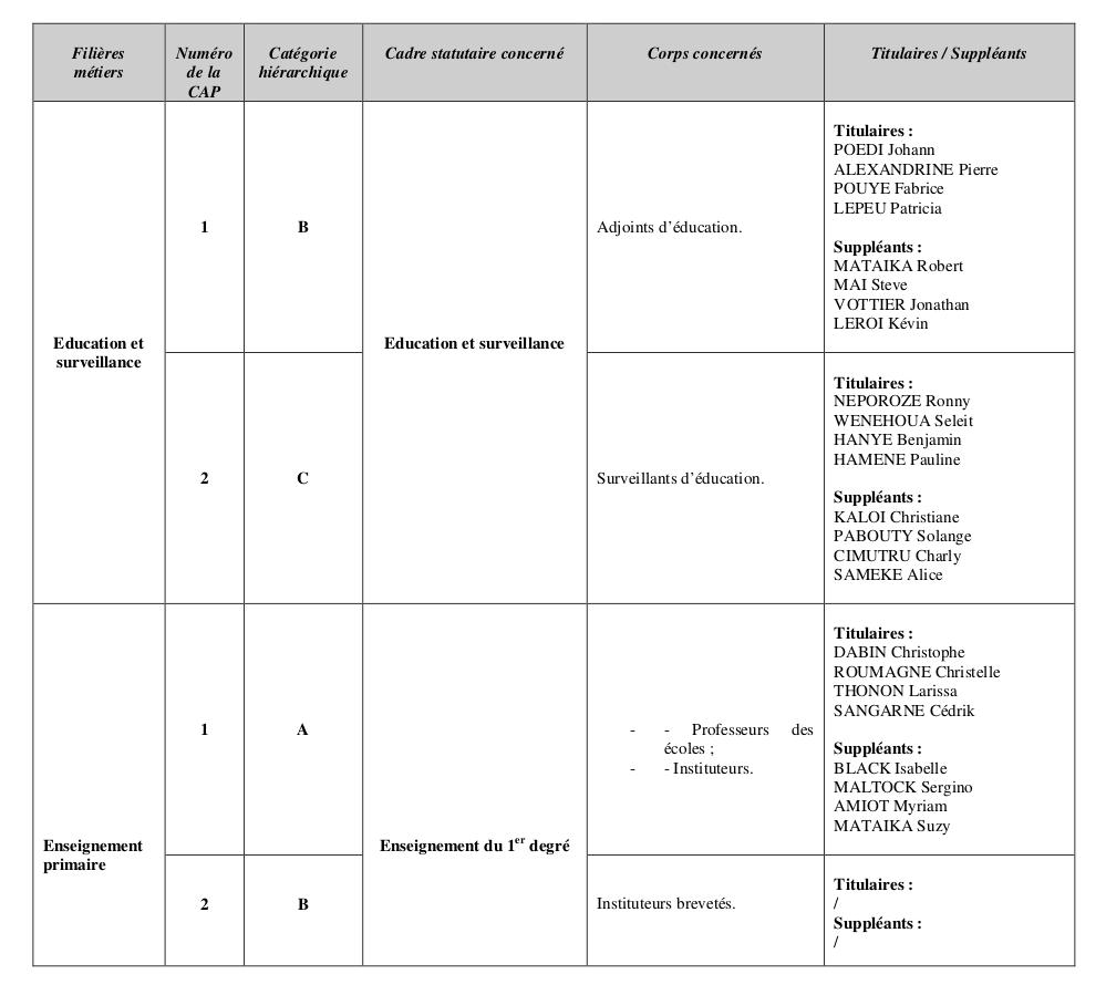 Représentants du personnel aux CAP du cadre territorial 2019-22 V3-p3